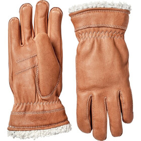 Hestra Deerskin Primaloft Handsker Damer, brun